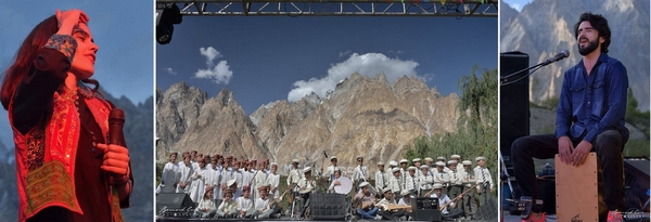 Passu Face Mela - festival musical de classe international 11/08/2018 Evénement ignoré des visiteurs étrangers Photos Bernard Grua