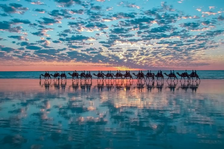 33 Amazing Beaches From Around The World - Cable Beach, Broome, Kimberley, Australia