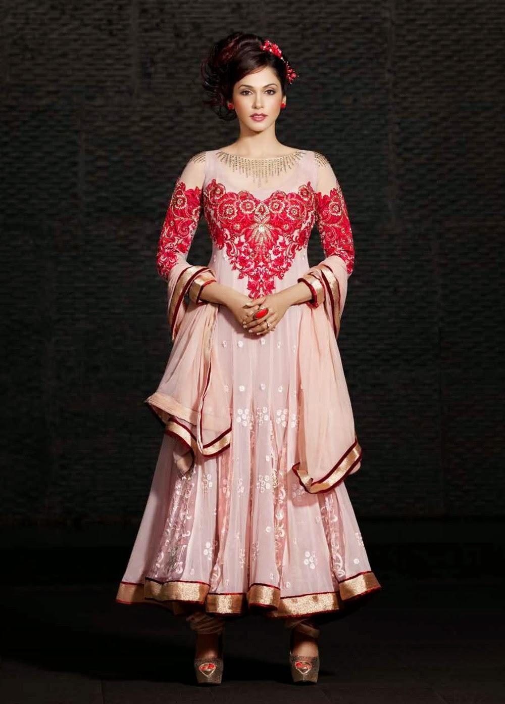 Isha Koppikar in Indian Designer Anarkali Salwar Churidar ...