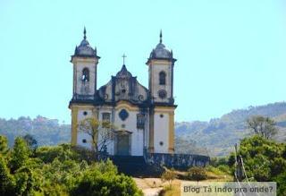 vista da Igreja São Francisco de Paula