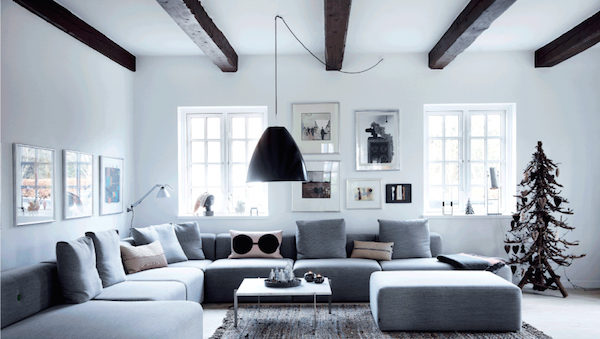 My scandinavian home a beautiful danish farmhouse ready - Scandinavian interior design magazine ...