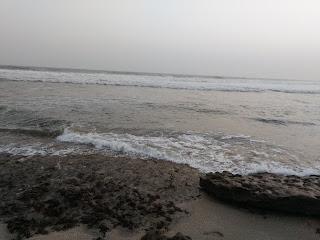 sun die, effect, ocean, nature
