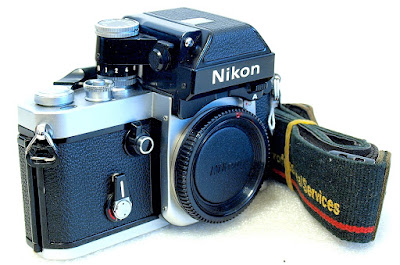 Nikon F2 Photomic A Body (Chrome) #047, DP-11 Prism Finder
