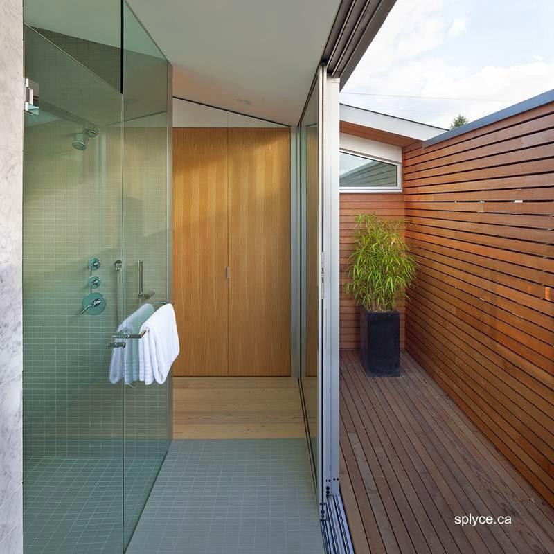 Sector del baño con duchas