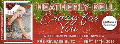 Pre-Release Blitz: Crazy for You by Heatherly Bell