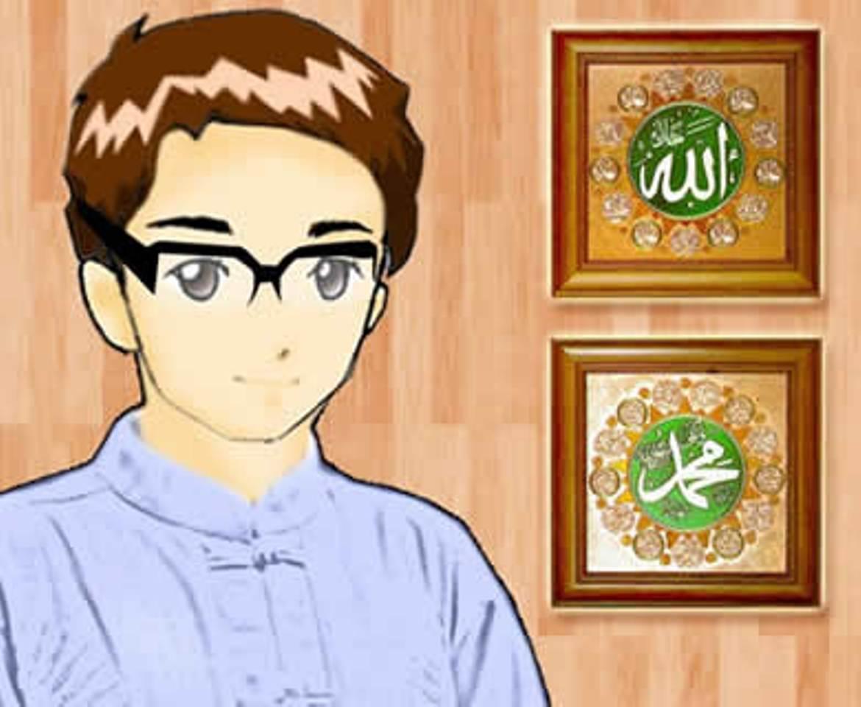 Mirzan Blog S Paling Inspiratif Gambar Kartun Foto Laki Laki Santri
