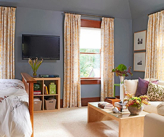 2014 Smart Bedroom Window Treatments Ideas