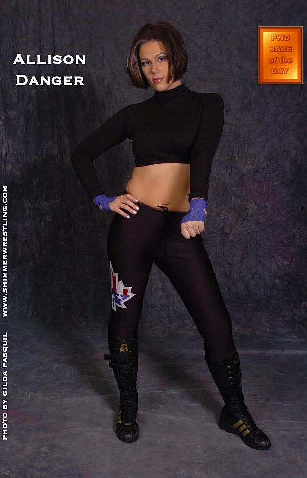 Womens Pro Wrestling: Allison Danger - Female Wrestling