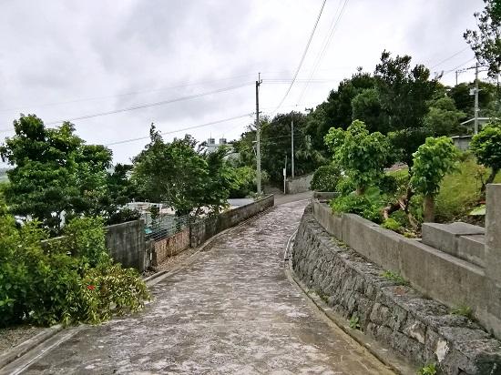 志多伯集落の石畳の写真