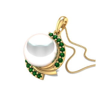 Pearl Pendant - Zaamor Diamonds