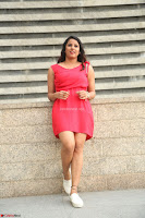 Shravya Reddy in Short Tight Red Dress Spicy Pics ~  Exclusive Pics 120.JPG
