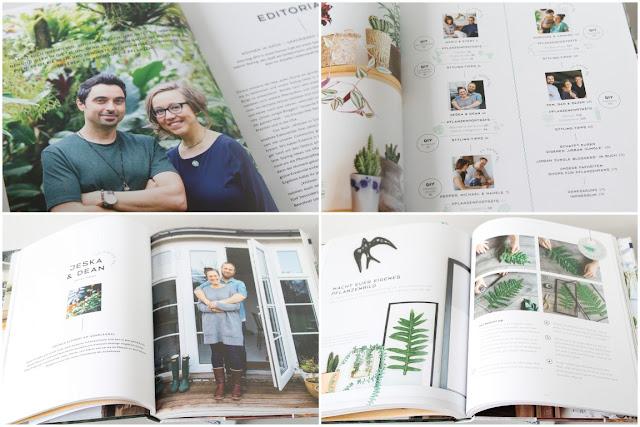Wohnen in gruen Urban jungle bloggers Buch