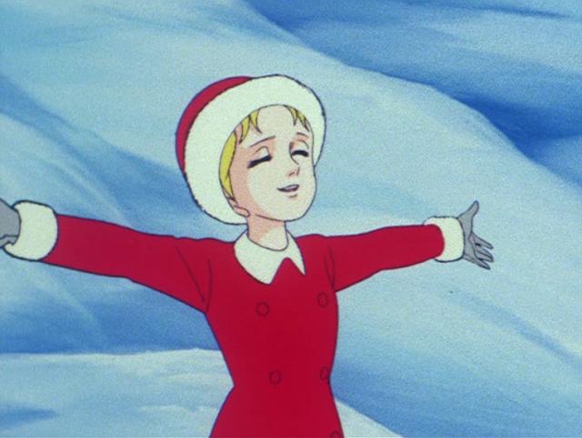 Sandy Jonquille Voyage dans le Passé épisode de Noël