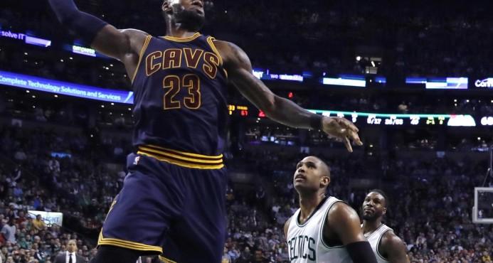 """Los Cavaliers salen """"amplios favoritos"""", pese a comenzar en la casa de Boston"""