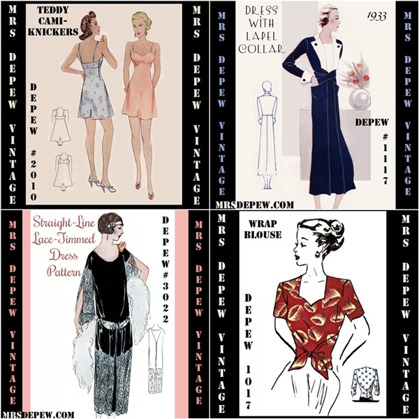 mrs depew vintage patterns