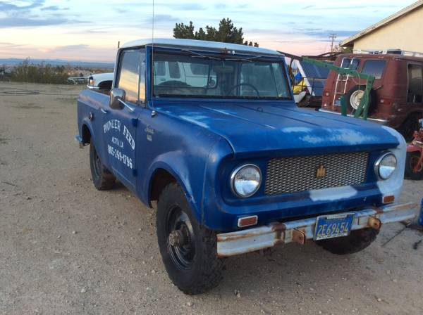 1963 International Scout Pickup 4x4 For Sale - 4x4 Cars