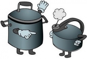 hello pot meet kettle
