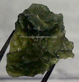 Batu Permata Moldavite - ZP 286