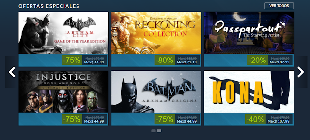 ofertas batman steam