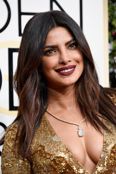 Priyanka Chopra In golden Gown