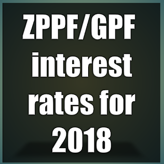ZPPF/GPF interest rates for 2018