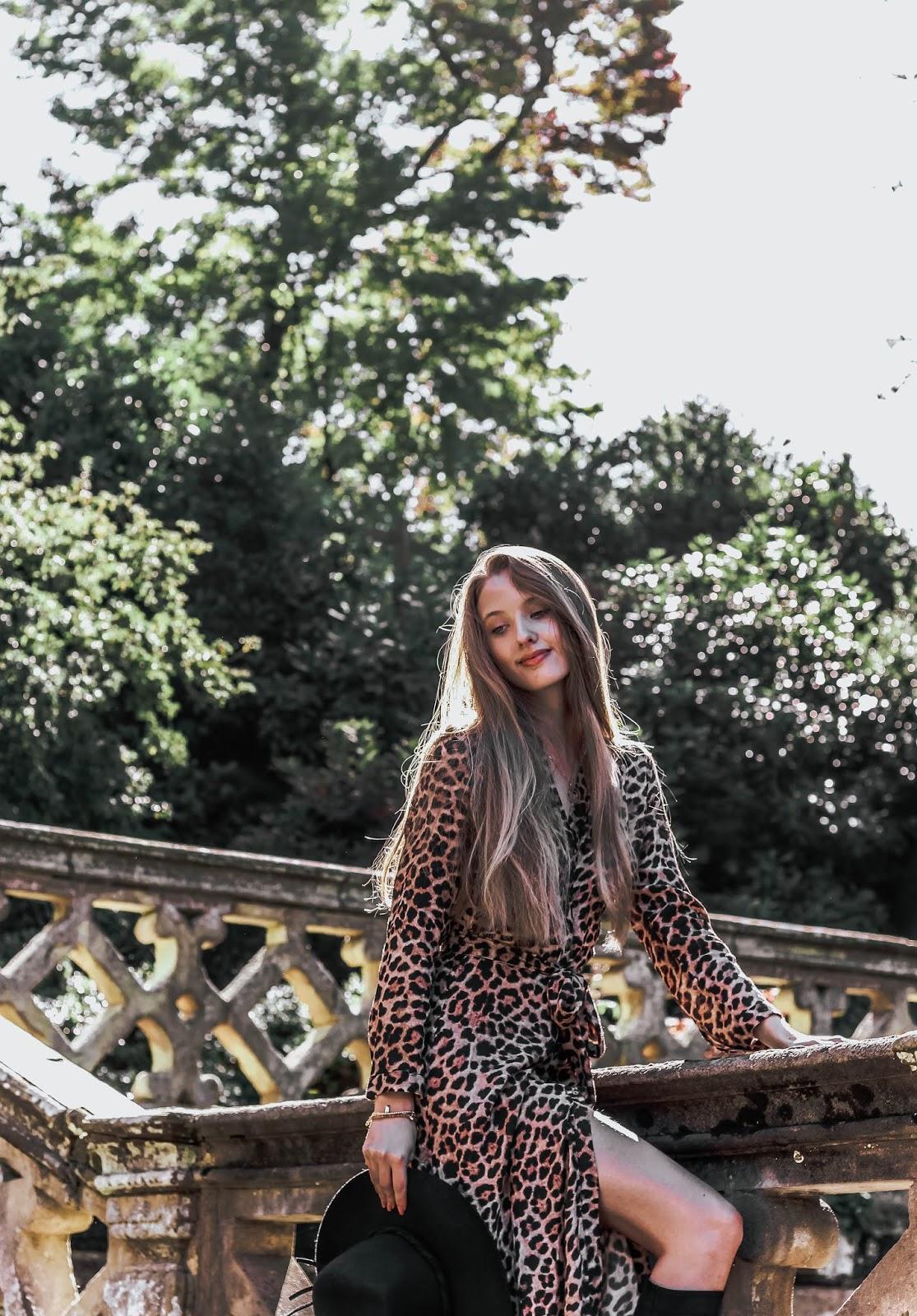 Sexy Leopard Print Maxi Dress 2018