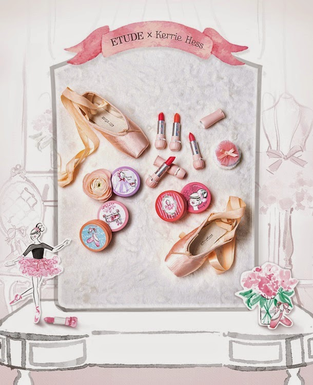 Etude House Dreaming Swan Makeup Collection Spring 2015
