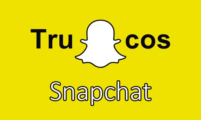 Trucos, consejos y curiosidades de Snapchat