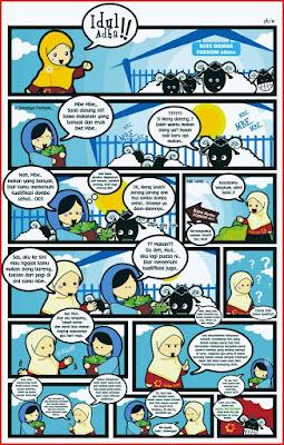 contoh komik cerita islami