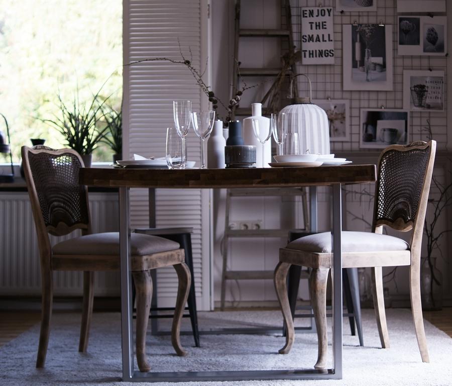 Blog + Fotografie by it's me! | fim.works | Nützliches und Schönes in den Farben der Hamptons | Esszimmer mit gedecktem Tisch
