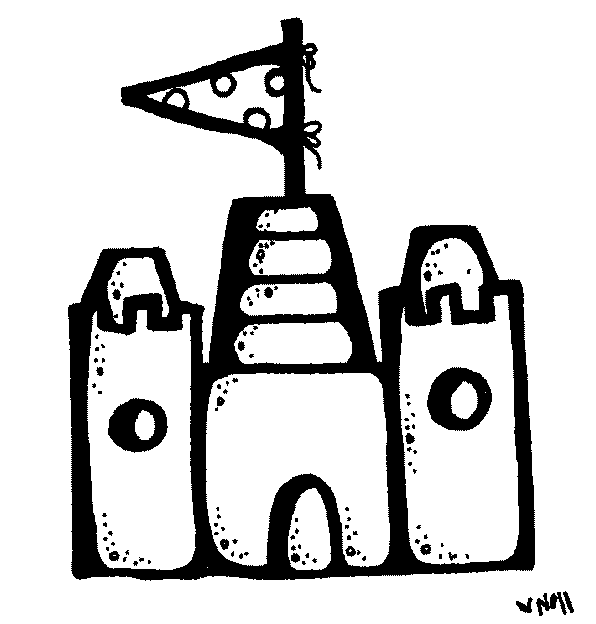 sandcastle clipart black and white. here is a peek at the rest of bundle sandcastle clipart black and white l