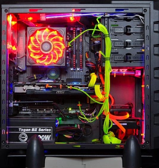 komputer ajang pamer