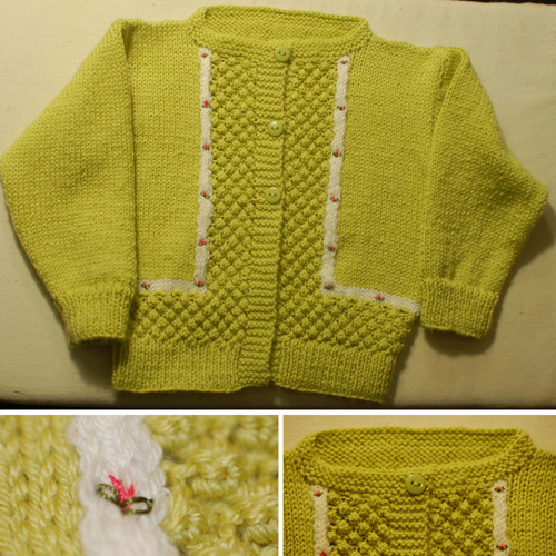 Baby Twin Set - Free Pattern