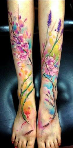Aquarela Flores