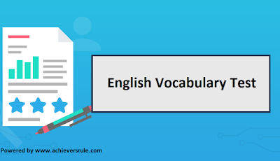 Test of English Word Power for IBPS PO - Set 6