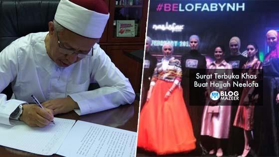 Akhirnya Mufti Wilayah Persekutuan 'Buka Mulut' Dan Beri Surat Terbuka Khas Untuk Hajjah Neelofa
