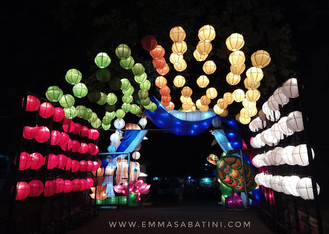 Festival of Light Cilegon Banten