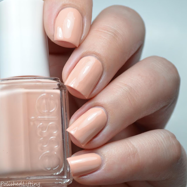 peachy nude nail polish