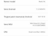 Cara Upgrade Redmi 4a Ke Nougat (MIUI 9) Tanpa PC