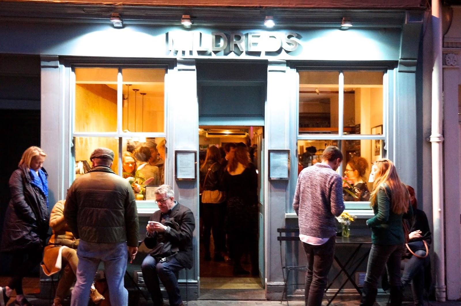 Mildreds, vegetarian food