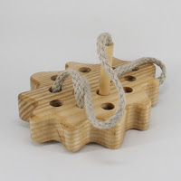 TT09, Threading Oak-Leaf, Lotes Wooden Toys