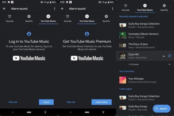 Cara Menggunakan Spotify dan Youtube Untuk Alarm HP