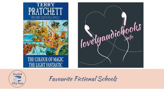 BOOkish Blog Hop: Favourite Fictional Schools @lovelyaudiobook