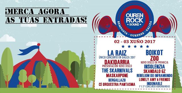 Conciertos en Ourense