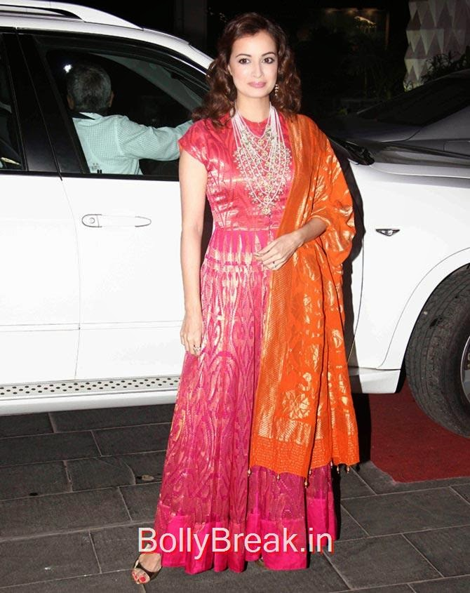 Dia Mirza, Esha, Sridevi, Jacqueline, Sonali at Tulsi Kumar's wedding Reception