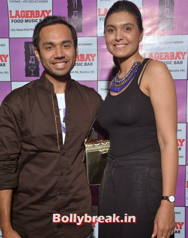 Chef Saransh Goila and Kiran Dhillon, Page 3 Celebs at Lagerbay New Menu Launch Party