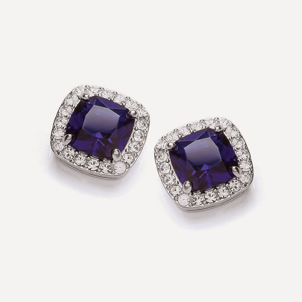 Attwood and Sawyer sapphire-style Mayfair Cushion Sapphire Ring