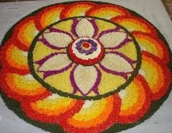 onam pookalam competition photos