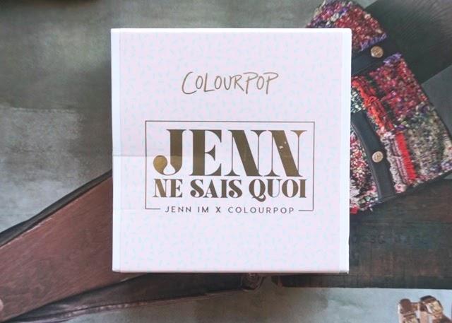 Jenn Im X ColourPop Jenn Ne Sais Quad (bellanoirbeauty.com)