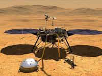 Embusan Angin di Mars Terekam Pesawat InSight Nasa